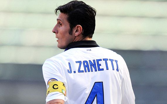 Zanetti suffers ruptured Achilles tendon