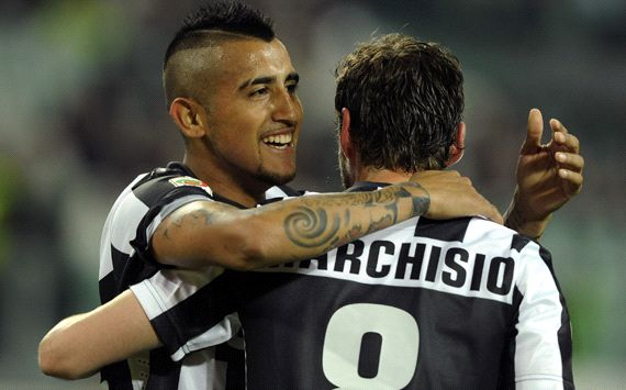 Vidal puts Juve on brink of Scudetto
