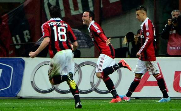 Pazzini double inspires Milan revival