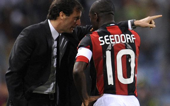 'Milan ziet in Seedorf opvolger Allegri'