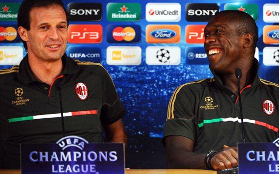 Clarence Seedorf Bantah Latih AC Milan Musim Depan