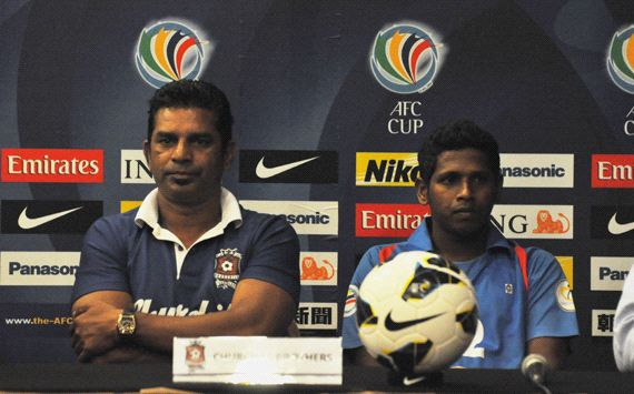 AFC Cup Match Press Conference:Semen Padang vs Churchill Brothers SC