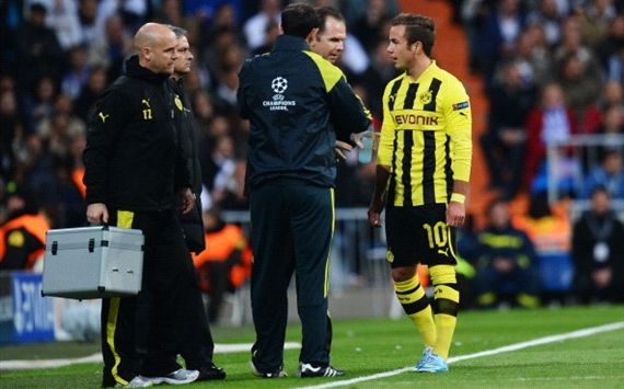 Gotze big doubt for Champions League final