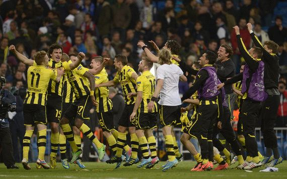 Dortmund survive Bernabeu bombardment