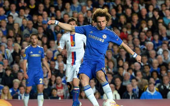 Europa League - Chelsea v FC Basel 1893, David Luiz