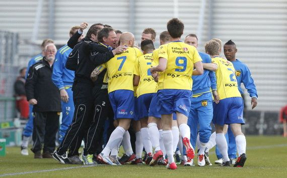 Cambuur viert feest na domper Volendam