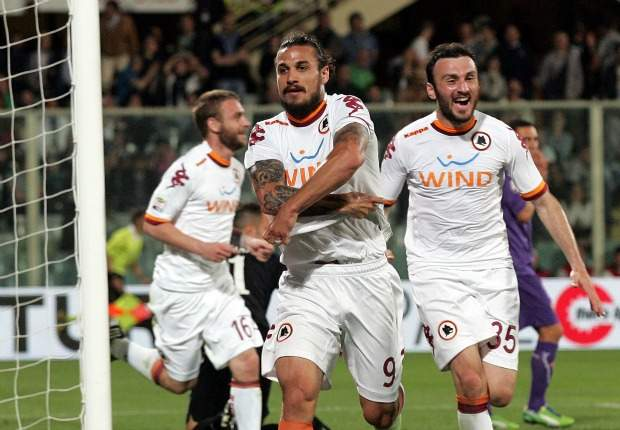 Gol Telat Pablo Osvaldo Menangkan Roma