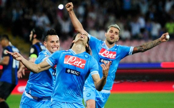 Cavani fires Napoli into Champions League