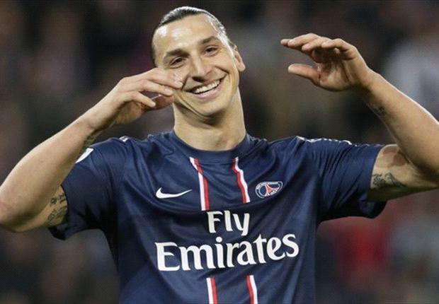 Zlatan Ibrahimovic 100 Persen Di Paris Saint-Germain