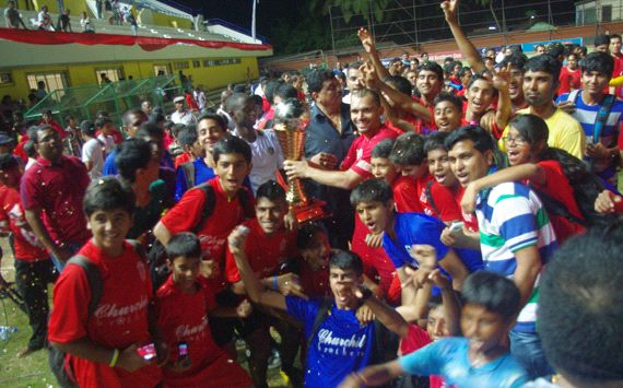 Churchill are the I-League champions