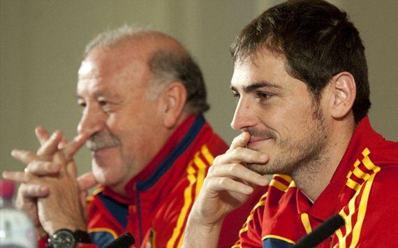 Del Bosque lebih percaya pada Casillas ketimbang Diego Lopez