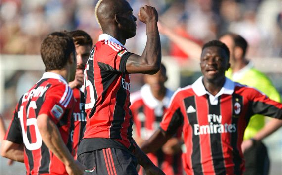 Balotelli runs Pescara ragged