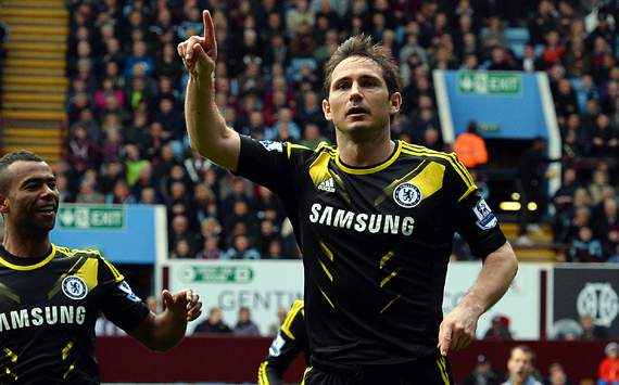 Lampard Makes History