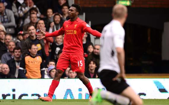 Sturridge hat-trick downs Fulham