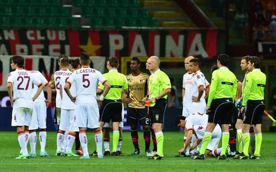 جریمه 50هزار یورویی رم به خاطر توهین نژادپرستانه هواداران به بالوتلی
