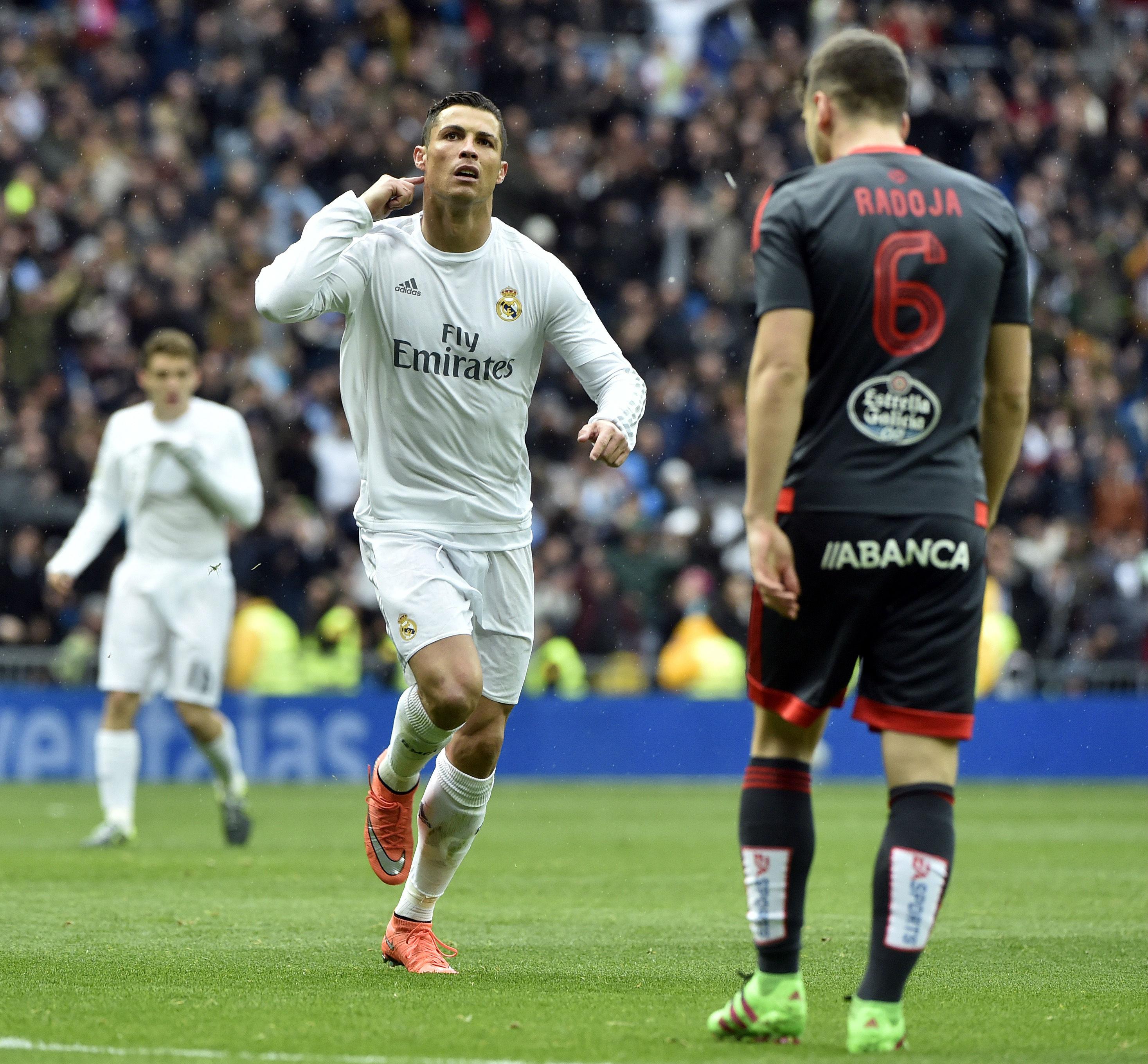 Celta Vigo Vs Barcelona Ronaldo7: Ronaldo Responds To Real Madrid Whistles With Celebration