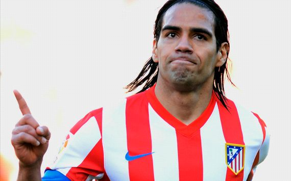 Falcao ignoring Monaco speculation