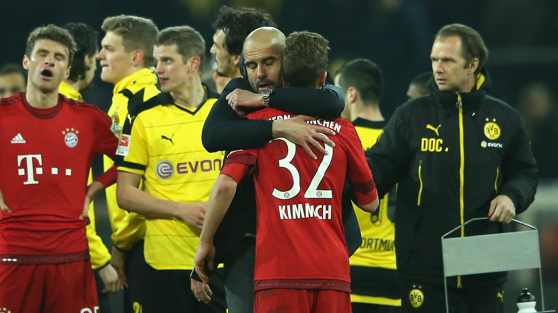 Kimmich flourished under the mentorship of Pep Guardiola (Photo: Goal)