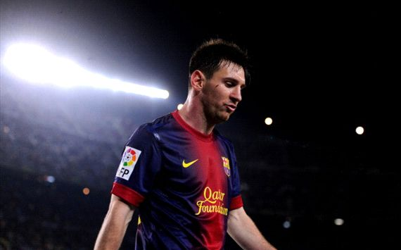 Vilanova's absence hit us hard - Messi