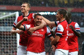 Arsenal en Spurs om Champions League