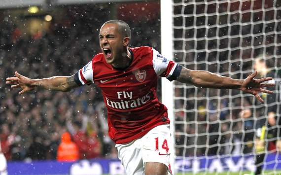 Theo Walcott Optimistis Ke Liga Champions