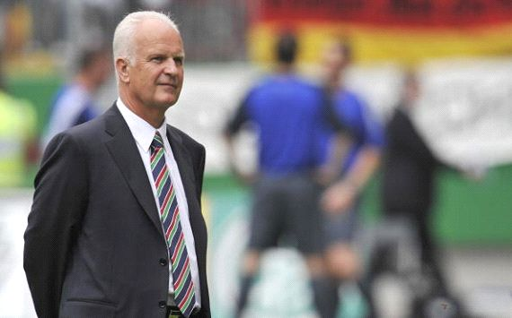Bernd Stange is the new Singapore coach