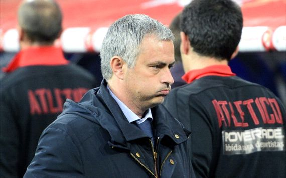 Mourinho am Boden