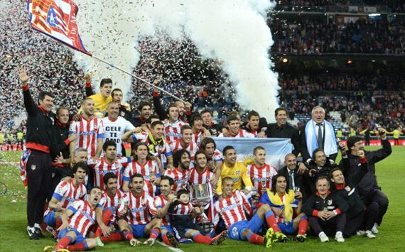Atletico feiert den spanischen Pokal!