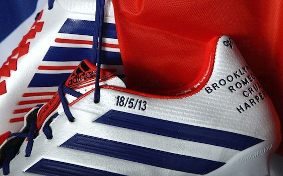 bbc901da06c1 Fitting tribute  Beckham s custom adidas boots for final Paris Saint ...
