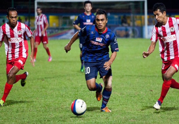 Warriors striker Sufian Anuar has been in good form this season