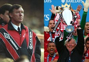Manchester United manager Sir Alex Ferguson retired with a 13th Premier League trophy