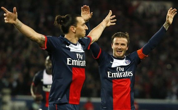 Passerella Psg con super Ibra