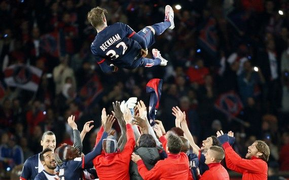 Beckham bows out in win over Brest