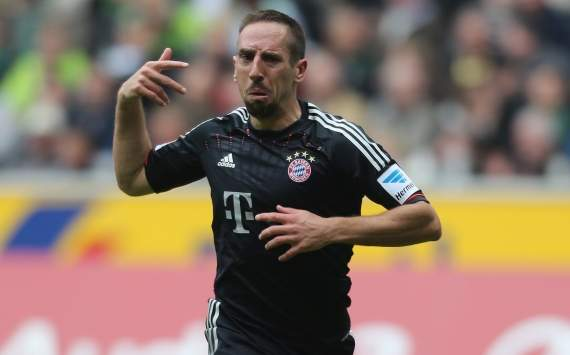 Ribery: Bayern too good for Dortmund