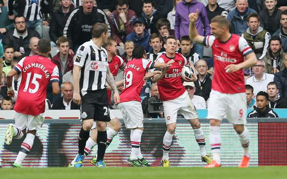 CL-voorronde Arsenal na zege in Newcastle