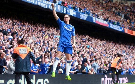 Zampata di Torres: Chelsea,  Champions