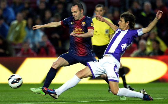 LIVE: Barcelona 2-0 Valladolid