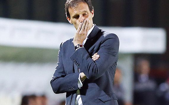 Milan deny Berlusconi has sacked Allegri