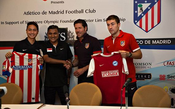 Sundram looking forward to Atletico clash