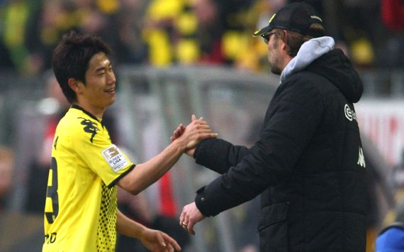 Klopp: I cried when Kagawa left Dortmund