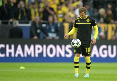 Götze se pierde la final de Champions League