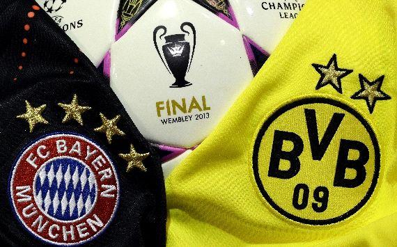 Das Finale der Champions League zwischen dem FC Bayern und Borussia Dortmund