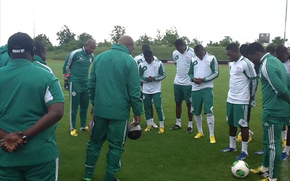 No cause for panic, says Keshi