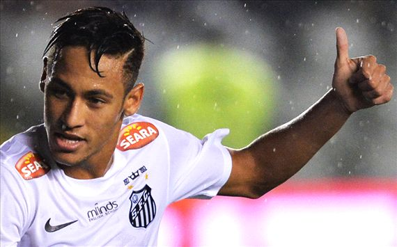 Santos accept two Neymar bids