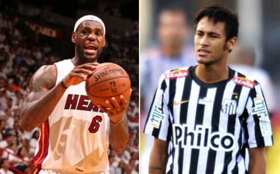 Neymar, la secuela de LeBron James