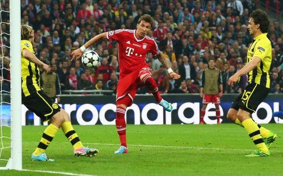 Champions League: Borussia Dortmund - Bayern Munich, Mario Mandzukic
