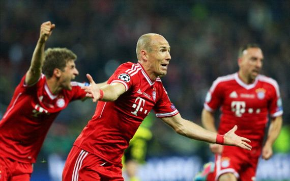 Robben relieved to shake off 'loser' tag