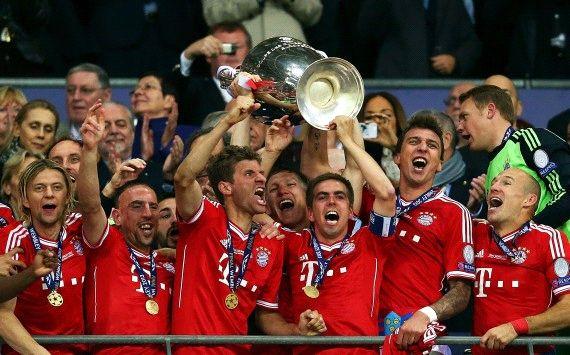 Bayern meraih titel Liga Champions kelima di musim ini.