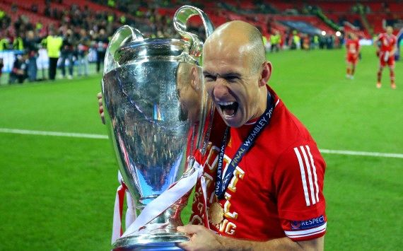 Robben is finally Bayern's braveheart