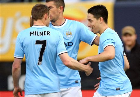 Nasri hits double in thrilling friendly
